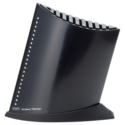 Ship Shape Knife Block with 10 Slots Black