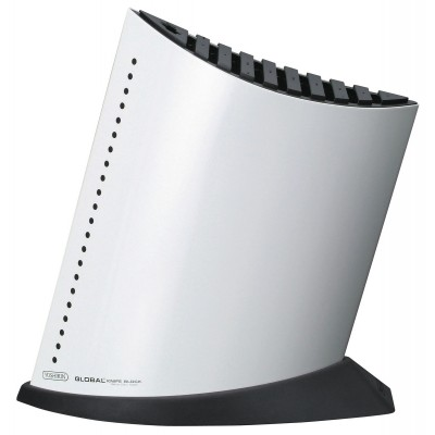 Ship Shape Knife Block with 10 Slots White